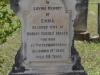 Voortrekker Cemetary  East - Grave  Emma Mason 1889 (1)