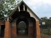 Voortrekker Cemetary  East - Grave  - Entrance Portico (1)