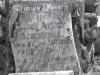 Voortrekker Cemetary  East - Grave  Sidney Armstrong 1918 (2)