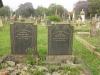 Voortrekker Cemetery East grave  Arthur Wood 1942 & Rosanna Wood 1942