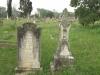 Voortrekker Cemetery East grave  Frances & Joseph Nicolson