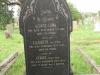 Voortrekker Cemetery East grave  George Lamb 1901 & Elizebeth 1897