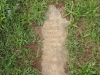 Voortrekker Cemetery East grave  Harburn died 1885