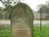 Voortrekker Cemetery East grave  Rev. John Thomas 1921
