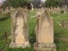 Voortrekker Cemetery East grave  William, Catherine and daughter Edith Geere