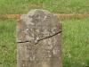Voortrekker Cemetery East grave  Alice Dowsett 1878 - fell off wagon