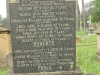 Voortrekker Cemetery East grave  Roberts & Poole families