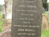 Voortrekker Cemetery East grave james Thomson 1915 & John Russell1934