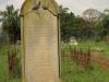 Voortrekker Cemetery East grave  Charlotte Wade 1882 wife of John and son John 1851