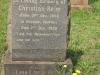 Voortrekker Cemetery East grave  Christain Reim 1930 (Denmark)