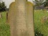 Voortrekker Cemetery East grave Hannah Brittain 1887