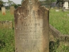 Voortrekker Cemetery East grave  James Miles 1870 - Tossed by a buffalo in Bomba Mountains - Amazwazi Country