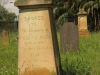 Voortrekker Cemetery East grave  William Reed 1852