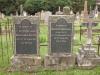 Voortrekker Cemetery - West  - Lt Col. George J. Macfarlane C.M.C. V.D. - 1933 & wife Maria