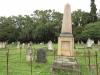 Voortrekker Cemetery West - Grave A.J. Wolhuter