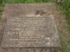 Voortrekker Cemetery West - Grave William Chapman 1927