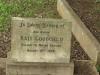 Voortrekker Cemetery West - Grave Kate Goodchild 1928