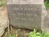 Voortrekker Cemetery West - Grave Lennox N Devenish in Greys Hospital 1922