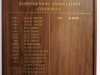 Princes Grant honours boards H.O.A. Chairmen