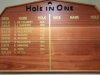 Richmond Country Club - Bar - Honours Boards - Hole in One (3)