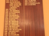 Richmond Country Club - Honours Board - Richmond Agric. Society Presidents