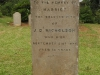 St Marys Church -  Grave - Harriet Nicholson 1876