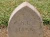 St Marys Church -  Grave - R.L. 1868