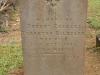 St Marys Church -  Grave - Robert Charles Hildyard 1884