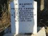 Rorkes Drift British Cemetery  in stockade Private Thorne 67th Dragoons