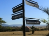 Rorkes Drift direction sign