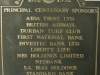 Greyville Royal Durban Golf Club Centenary Sponsors 1992