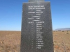 Schuinshooghte Military Cemetery - West - 1881 - Anglo Boer War  - 60 th Royal Rifles Memorial - Name list (2)