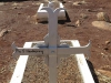 Schuinshoogte Military Cemetery (East) - Anglo Boer War (1899 -1900) - Grave  Pte S Newberry - 1st Devons - died 17 April 1900 (4)