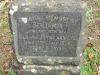 Scottburgh Cemetery grave Benjamin van Zyl