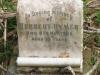 Scottburgh Cemetery grave Herbert Rymer