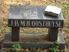 Scottburgh Cemetery grave J Oosthuyse