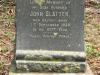 Scottburgh Cemetery grave John Slatter