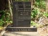 Scottburgh Cemetery grave Steynberg