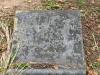 Scottburgh Cemetery grave unreadable
