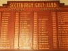 Scottburgh Golf Club honours boards Captains & champions. (1)