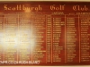 Scottburgh Golf Club honours boards Captains & champions. (2)
