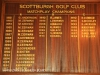Scottburgh Golf Club honours boards Match Play Champions). (2)