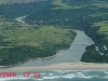 Port Edward Mouth - Umtamvuma mouth - aerial view (3)