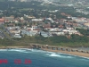 Port Shepstone CBD from the air - Road & Rail bridge - Umzimkulu mouth (4)
