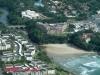 Uvongo Beach & Falls from air - Road Bridge & beach (5)