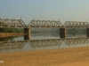 Illovo River Rail Bridge - View from Beach (16)