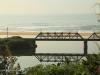 Illovo River Rail Bridge - view from R103 (1)