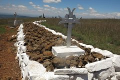 Spionkop - Battle Site & Graves at Crest