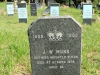 Stanger Cemetery - Grave JW Munn - Isipingo Mounted Rifles at Herwen - 1979 aged 24