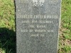 Stanger Cemetery - Grave  Lt Charles Evelyn Mason - 1879 - 3rd Regt. The Buffs at Herwen aged 24